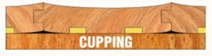 cupped floor