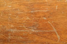 scratched floor