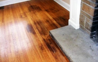 hardwood floor dark stains