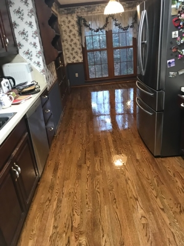 Beautiful new hardwood