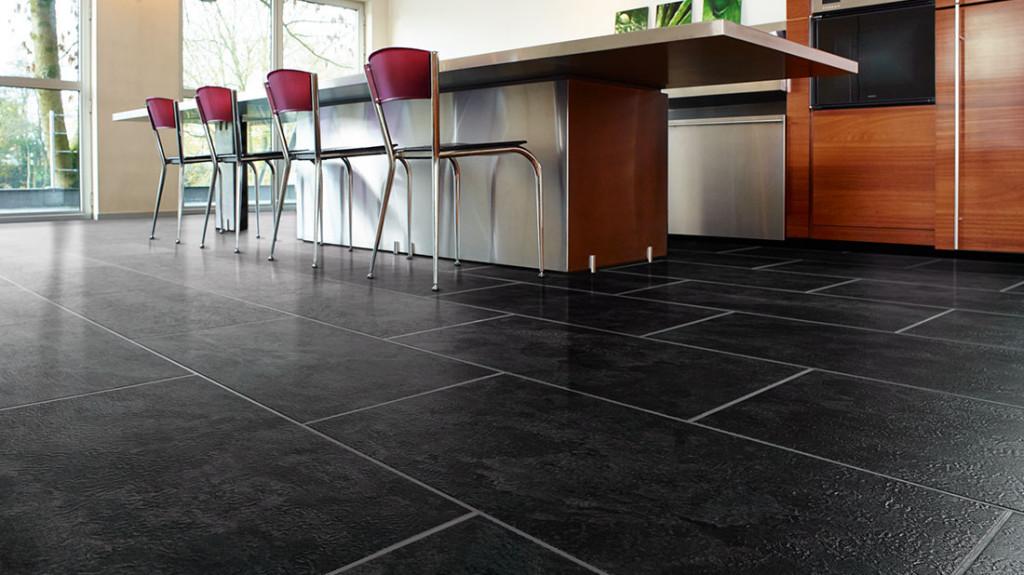 solid vinyl tiles