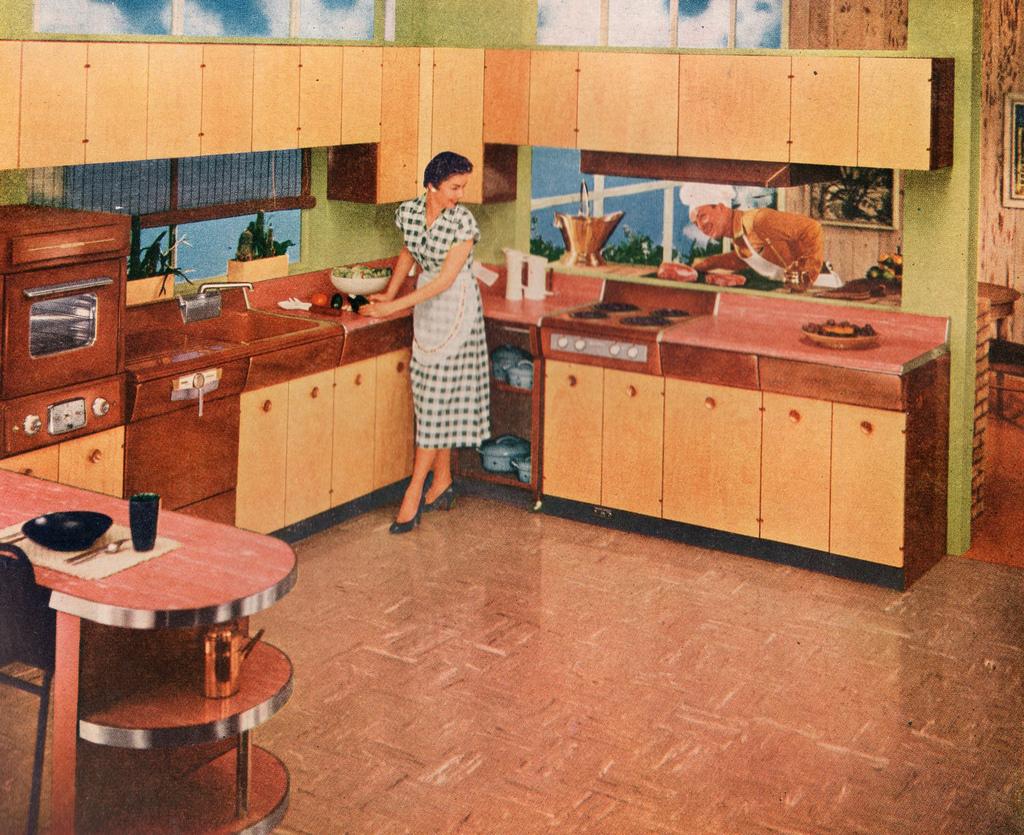 history of vinyl flooring