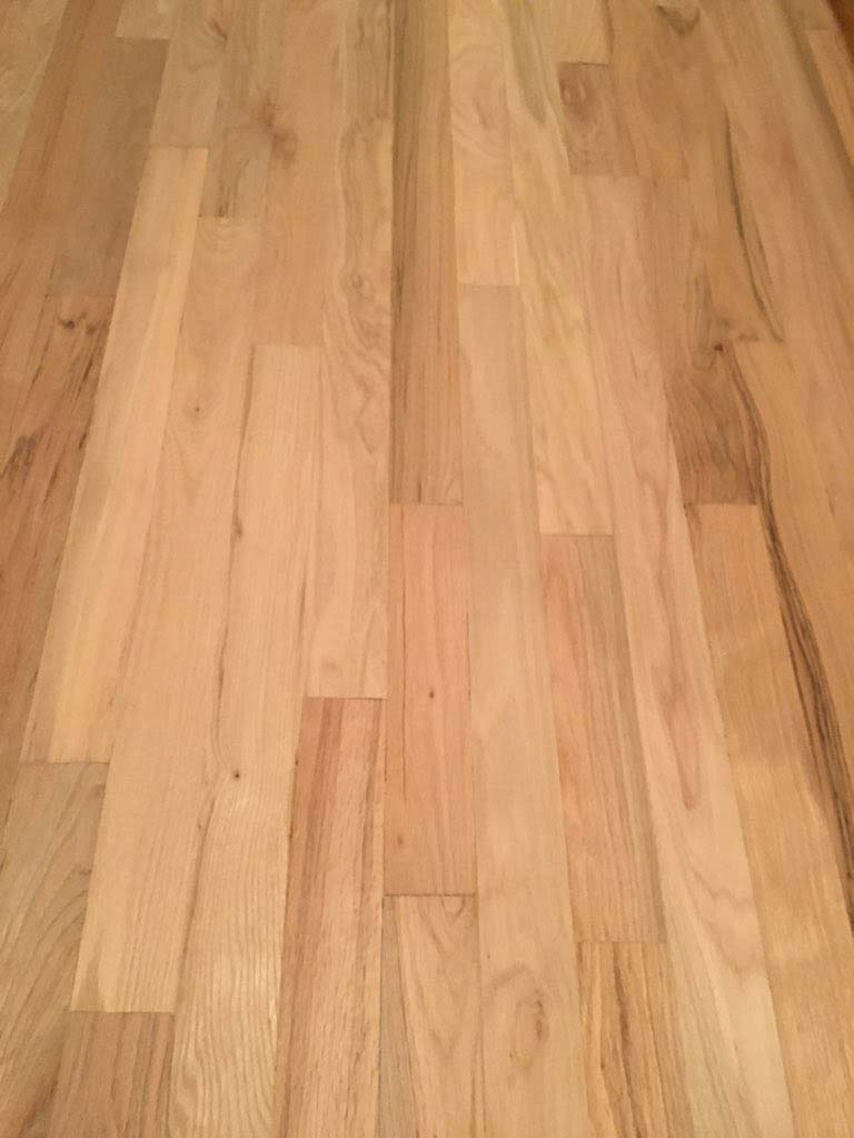 Floors are ready to be stained